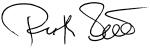 Unterschrift von Ruth Stoeckli, der Geschäftsführerin von ORA Schweiz