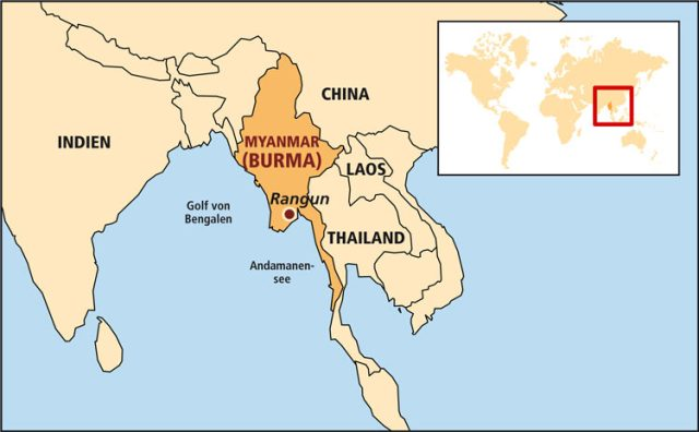Ländergrafik Burma
