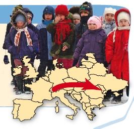 2'500 km reist Ihr Weihnachtspäckli quer durch Europa zu einem armen moldawischen Kind!