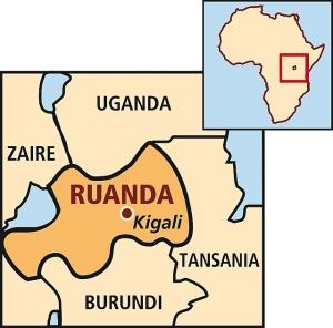Das Land Ruanda - Grafik ORA Schweiz