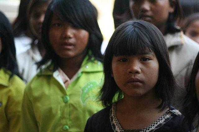Ehemalige Kindersoldatinnen in einem unserer Projektorte in Burma