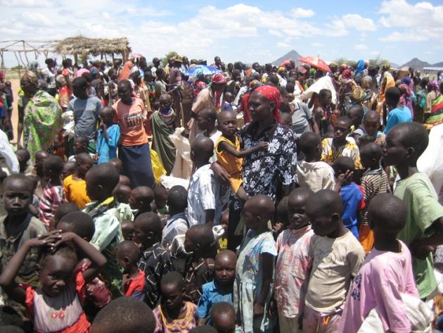 Die nächste mögliche Ernte ist noch weit. Ziel unserer Nothilfe ist es,  das Überleben dieser Familien bis dahin zu sichern