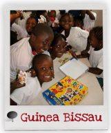 Kinder aus unserem Förderschaftsprojekt in Guinea-Bissau