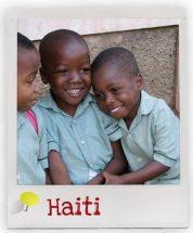 Kinder aus unserem Förderschaftsprojekt in Haiti