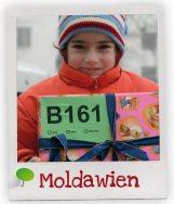 Ein Mädchen aus unserem Förderschaftsprojekt in Moldawien