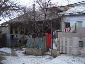 Moldawisches Wohnhaus, die meisten sind absolut marode