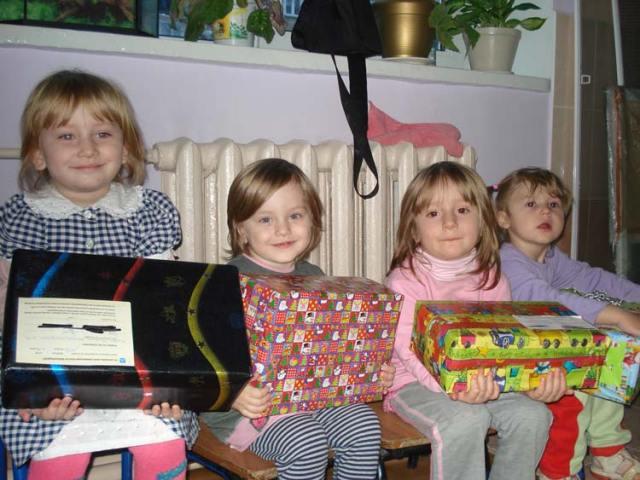 Strahlende Kinderaugen - sie haben sich so gefreut!