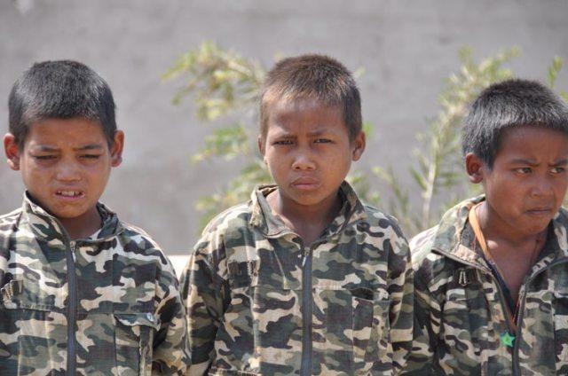 Befreien Sie Kindersoldaten aus der Versklavung!