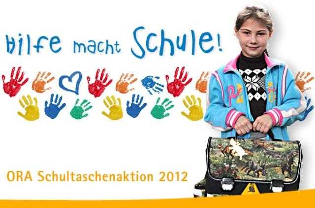 Machen Sie bei der Schultaschenaktion 2012 mit!