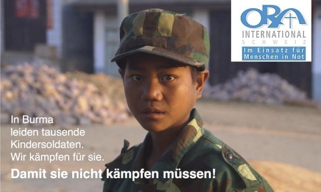Unterstützen Sie ein burmesisches Kind