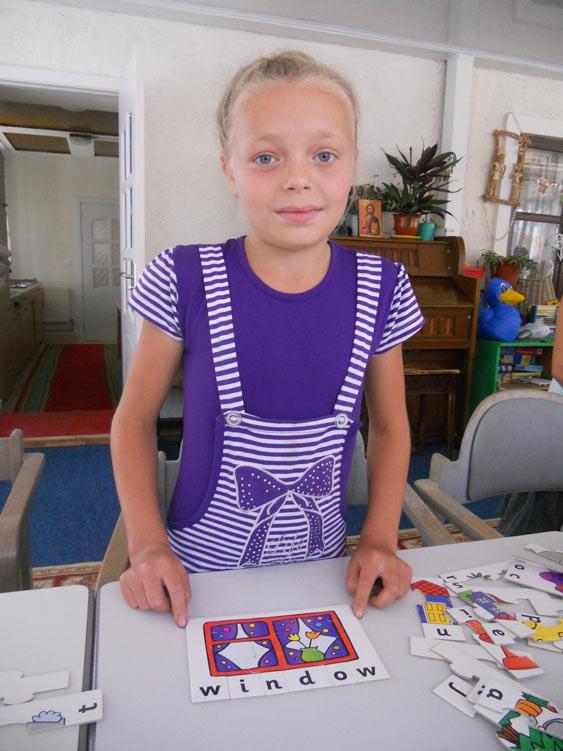 Elena verbringt ihre Sommerferien dank einer Patenschaft im Ester Chiperceni
