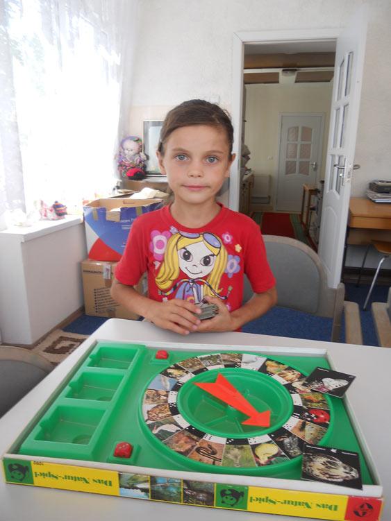 Liudmila verbringt ihre Sommerferien dank einer Patenschaft im Ester Chiperceni