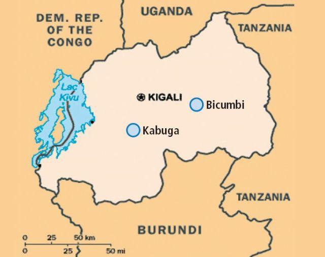 Ländergrafik Ruanda