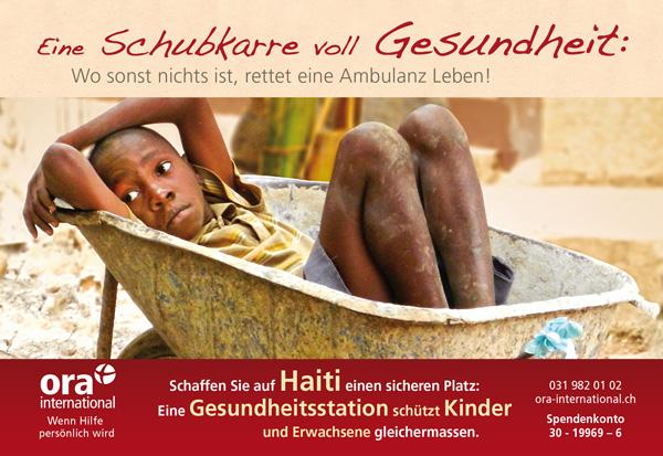 Klicken und Spenden